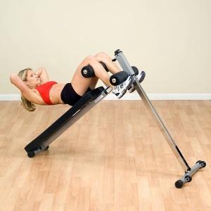 Body-Solid® GAB60 Pro-Style Ab Board, Bauchtrainer für Frauen
