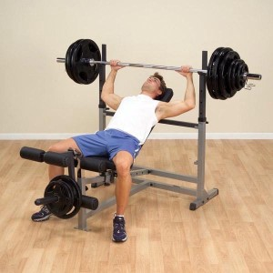 Body-Solid® GDIB46L PowerCenter Combo Bench - Bench Press