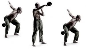 Kettlebell Training - Swing - Pavel Tsatsouline, Foto vom riva Verlag