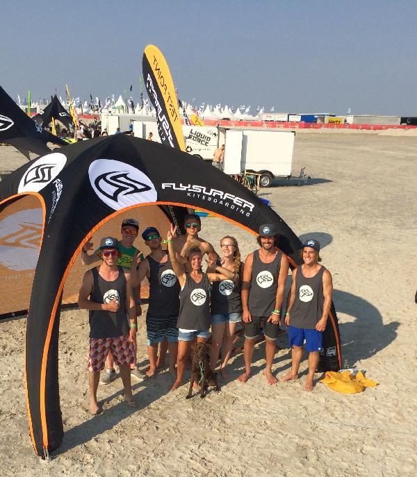 Flysurfer-Crew @ Pringles Kitesurf World Cup 2015