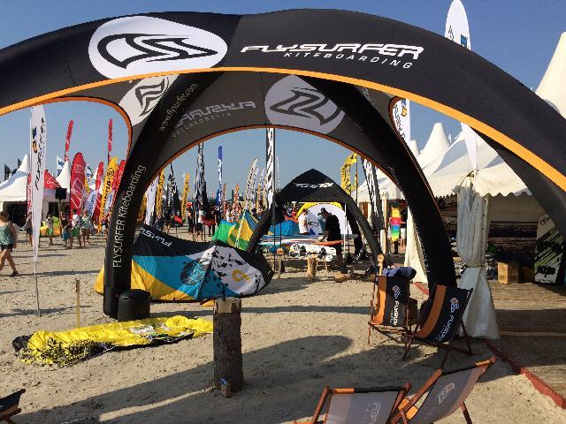Flysurfer Kiteboarding @ Pringles Kitesurf World Cup 2015