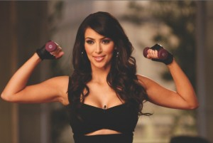 Kim Kardashian's Workout - Heisse Kurven von Edel:Motion