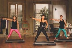 Kim Kardashian's Workout - Bauch, Beine, Po von Edel:Motion